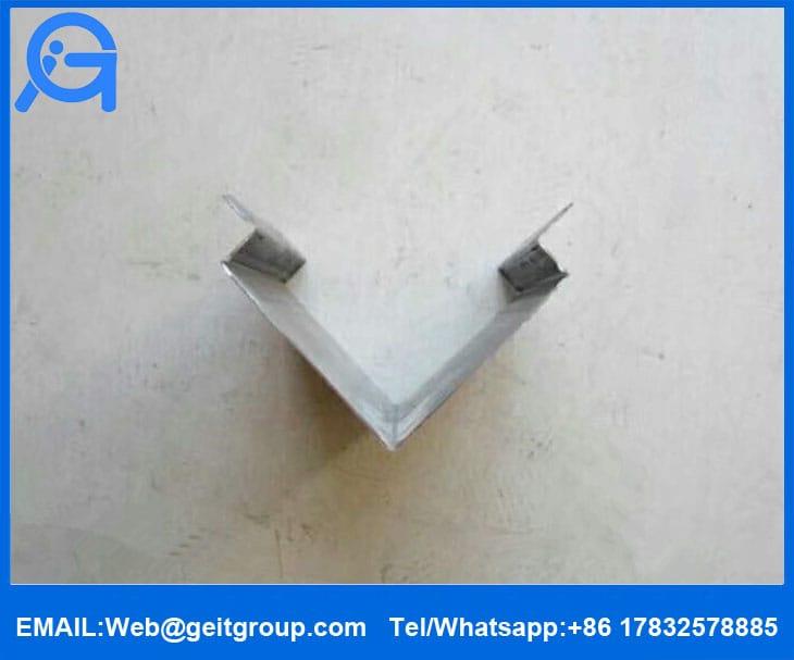 Trapezoidal Profile Metal Roof Ridge Cap Cangzhou Zhongtuo Roll Forming Machinery Co Ltd