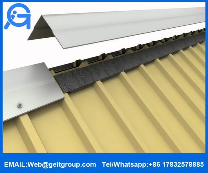 Ridge Amp Eave Foam Fillers Cangzhou Zhongtuo Roll Forming