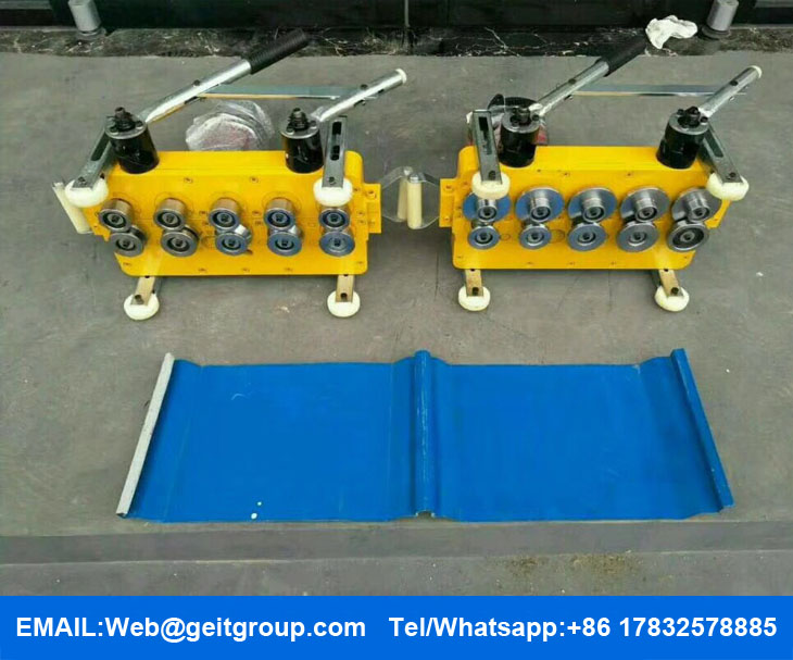 Electric Seaming Machine Seamer Cangzhou Zhongtuo Roll