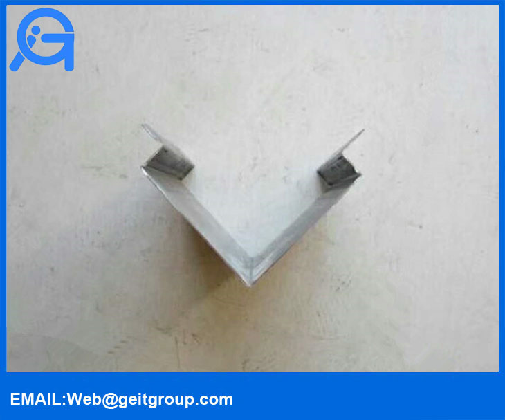 Trapezoidal Profile Metal Roof Ridge Cap